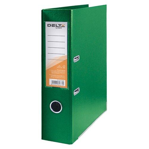 Фото - Delta by Axent Папка-регистратор A4 с двосторонним покрытием, 7,5cм зеленый tua by braccialini бумажник