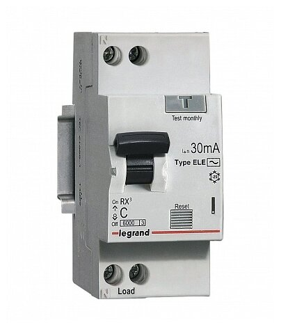Legrand 419662 RX3 Авт.выключатель 4,5кА 10А 1П C