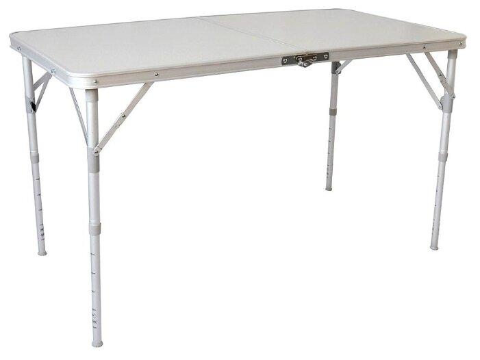 Стол INDIGO 9301 белый/серый