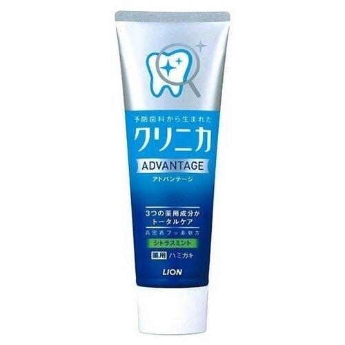 Зубная паста Lion Clinica Advantage Цитрусовые и мята 130 гЗубная паста<br>