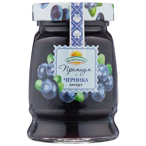 Десерт Экопродукт Премиум черника, банка 330 г
