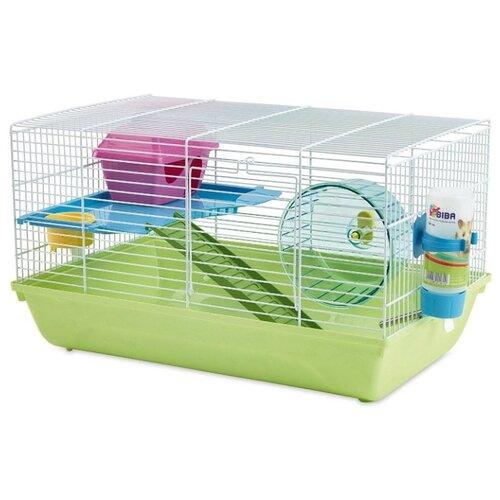 Клетка для грызунов SAVIC Martha Double 5007-0500 29.5х46.5х26.5 см зеленый/белый переноска клетка savic dog residence для животных д 122 х ш 76 х в 88 см хром
