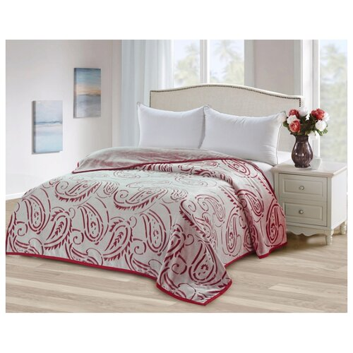 цена на Плед Tango Bicolor 150x200 см, бежевый/красный
