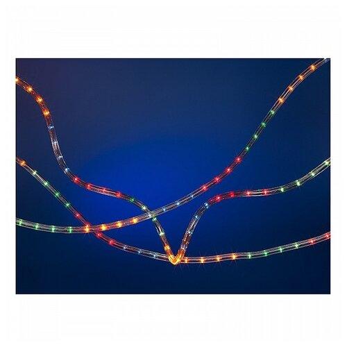 Фото - Гирлянда SNOWMEN Дюралайт Е60003, 10000 см, разноцветный/прозрачный провод snowmen ель 25 е50050
