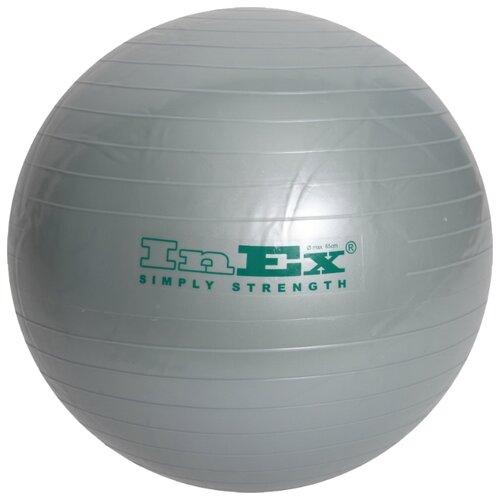 Фитбол InEx IN\BU-26\LB-65-00, 65 см серебристый