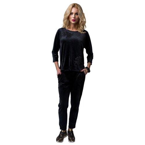 Комплект Lelio размер XL черный сорочка lelio