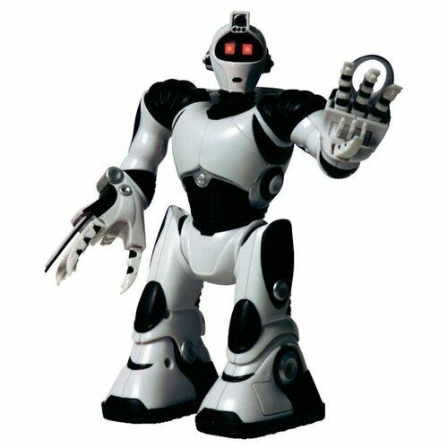 Интерактивная игрушка робот WowWee Mini Robosapien V2 белый/черный робот wowwee игрушка электрокидс черный матовый