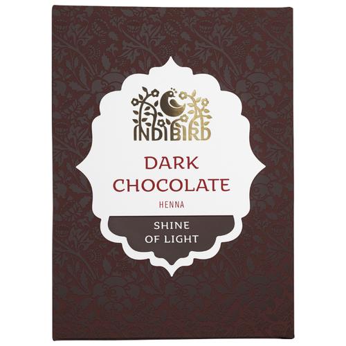 Хна Indibird тёмный шоколад, 100 г хна для волос натуральная черная indibird 50 г