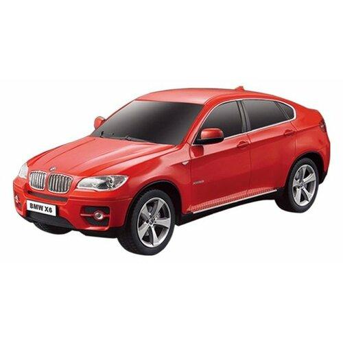 Купить Легковой автомобиль Rastar BMW X6 (31700) 1:24 20 см красный, Радиоуправляемые игрушки