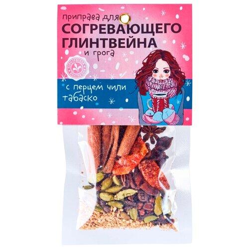 Домашняя кухня Приправа Для глинтвейна и грога с перцем чили табаско, 30 г