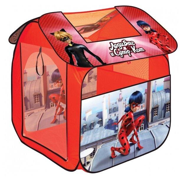 Палатка Играем вместе Леди Баг в сумке GFA-LB-R