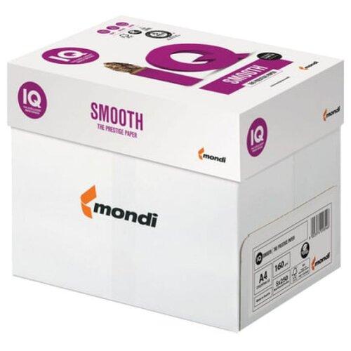 Бумага IQ Smooth A4 160 г/м² 250 лист. 5шт.