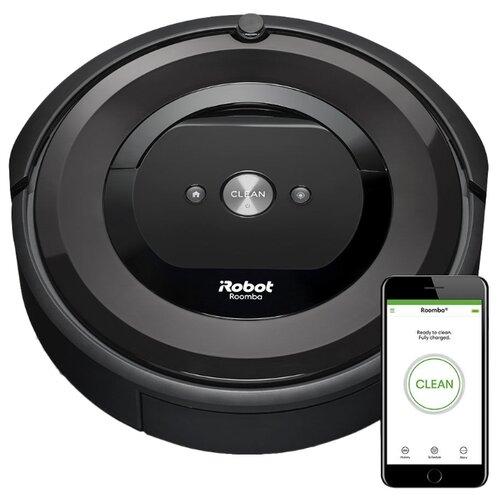 Робот-пылесос iRobot Roomba e5 черныйРоботы-пылесосы<br>