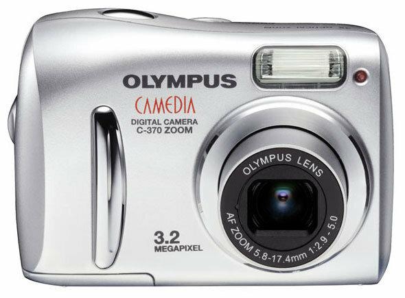 Фотоаппарат Olympus Camedia C-370 Zoom