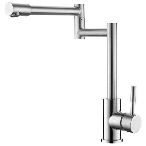 Смеситель для кухни (мойки) Ledeme L74005 однорычажный смеситель для ванны ledeme l3244 однорычажный