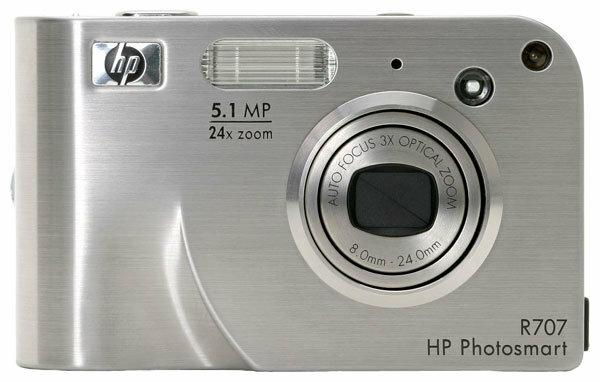 Фотоаппарат HP PhotoSmart R707