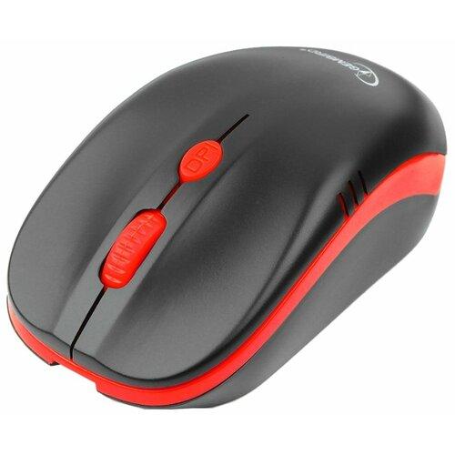 цена на Мышь Gembird MUSW-350 Black-Red USB черно-красный