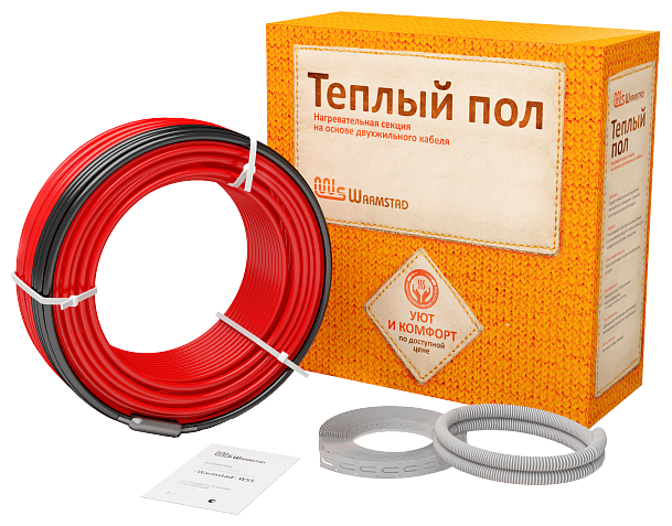 Греющий кабель Warmstad WSS-220 1.5м2 15.5м 220Вт