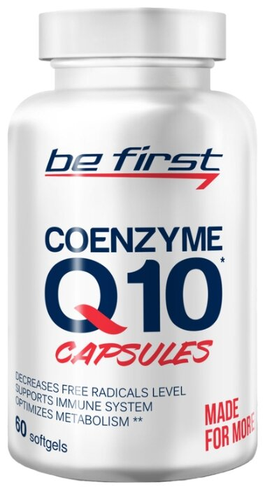 Коэнзим Q10 Be First Coenzyme Q10 (60 шт.)