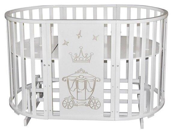 Кроватка Антел Северянка Корона (трансформер)