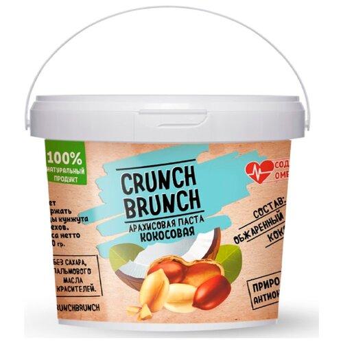 Crunch Brunch Арахисовая паста Кокосовая 1 кг фото