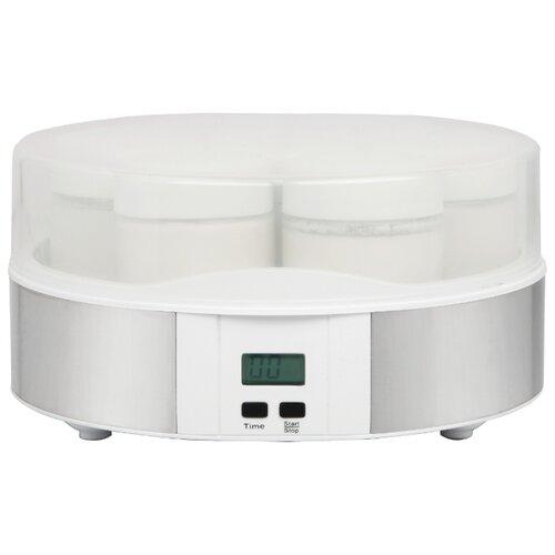 Йогуртница Gemlux GL-YM101 белый/серебристый