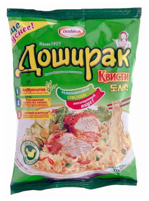 Doshirak Лапша со вкусом курицы Квисти 70 г