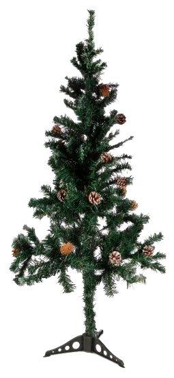Ёлка Новогодняя сказка с шишками 150 см 973324