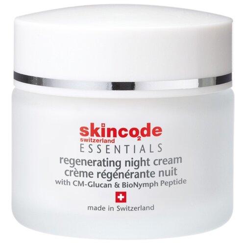 Skincode Essentials Восстанавливающий ночной крем для лица, 50 мл мицеллярная вода 200 мл skincode essentials