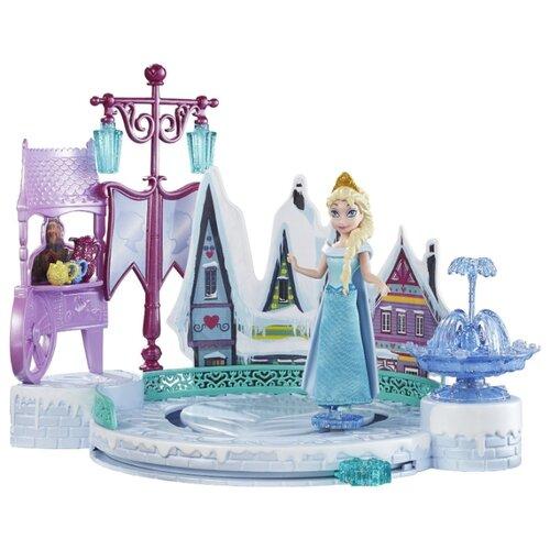 Купить Кукла Mattel Disney Princess Эльза в наборе с катком, DFR88, Куклы и пупсы