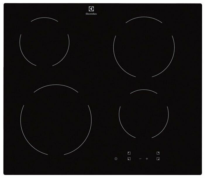 Варочная панель LEX EVH 320 BL, Hi-Light, независимая, черный