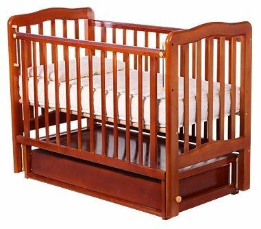Кроватка Карат Катюша 4 (продольный) (классическая), продольный маятник