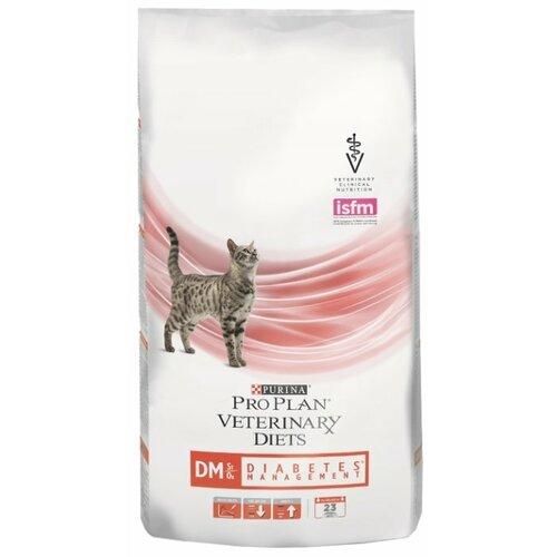 Фото - Корм для кошек Pro Plan Veterinary Diets Feline DM Diabetes Management dry (1.5 кг) корм для кошек pro plan veterinary diets feline en gastrointestinal canned 0 195 кг 24 шт