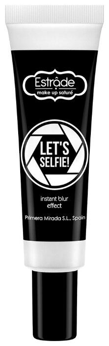 Estrade основа под макияж с эффектом светоотражения Let's Selfie! Makeup Base 20 мл светло-бежевая