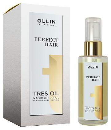 Купить OLLIN Professional Perfect Hair Tres Oil Масло для волос, 50 мл по низкой цене с доставкой из Яндекс.Маркета