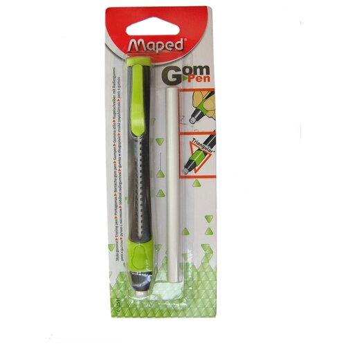 Maped Ластик-карандаш Gom Pen зеленый/черный