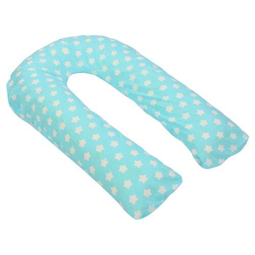 Купить Подушка Sonvol для беременных U 340 звезды на голубом, Подушки и кресла для мам