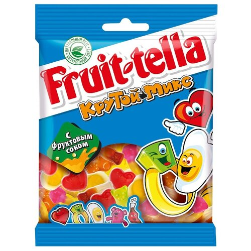 Мармелад Fruittella Крутой микс ассорти 70 г мармелад fruittella крутой микс 70 г