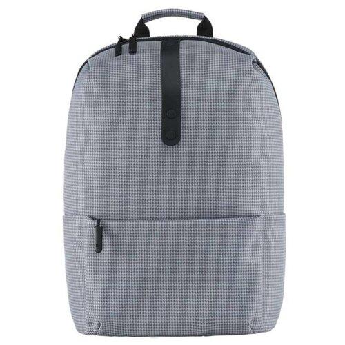 Фото - Рюкзак Xiaomi College Casual Shoulder Bag grey round straw shoulder bag