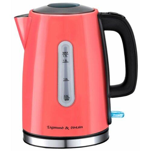 Чайник Zigmund & Shtain KE-712, коралловый