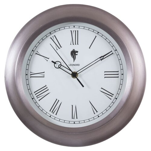 Часы настенные кварцевые LEONORD LC-71 жемчужныйЧасы настенные<br>