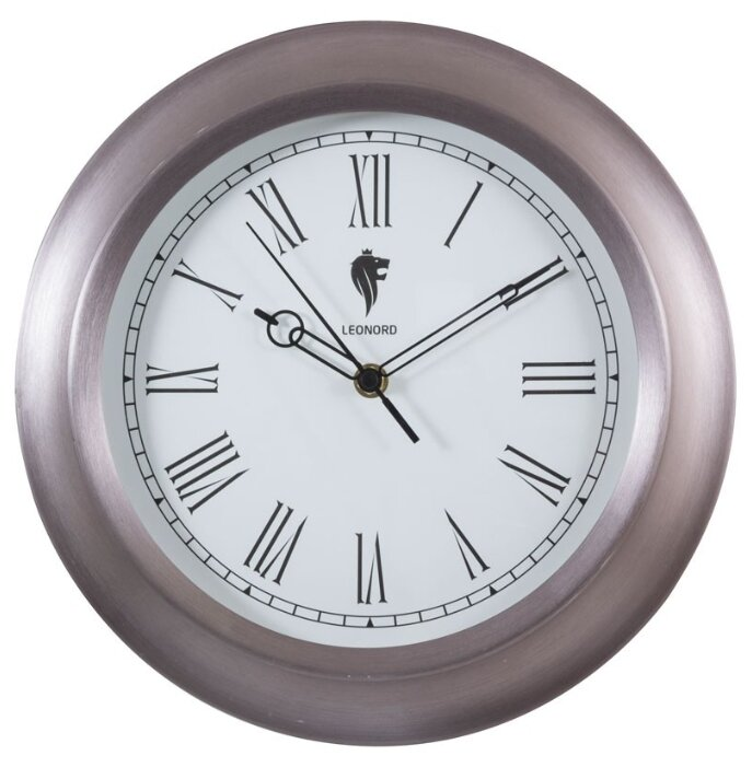 Часы настенные кварцевые LEONORD LC-71 жемчужный