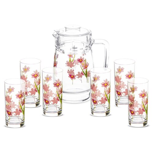 Набор Luminarc Dream Grasse кувшин + стаканы 7 предметов