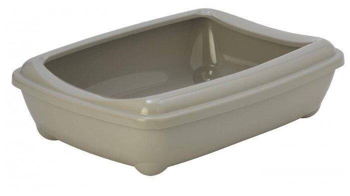 Пеленки, лотки, туалеты Moderna Arist-o-tray M / Туалет-лоток c Бортом 43x30x12h см
