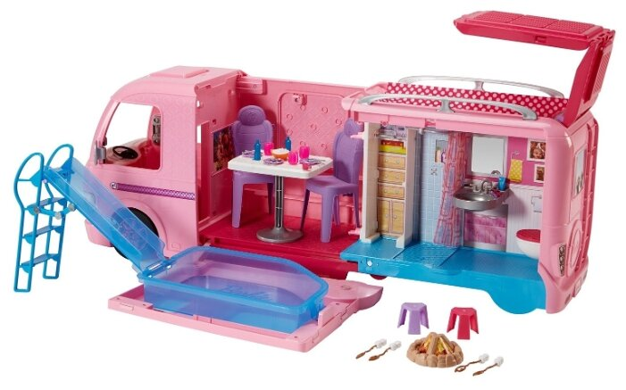 Домик для кукол Barbie (FBR34) волшебный раскладной фургон