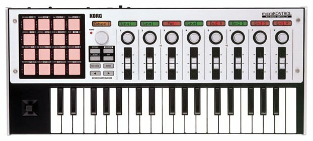 MIDI-клавиатура KORG microKONTROL