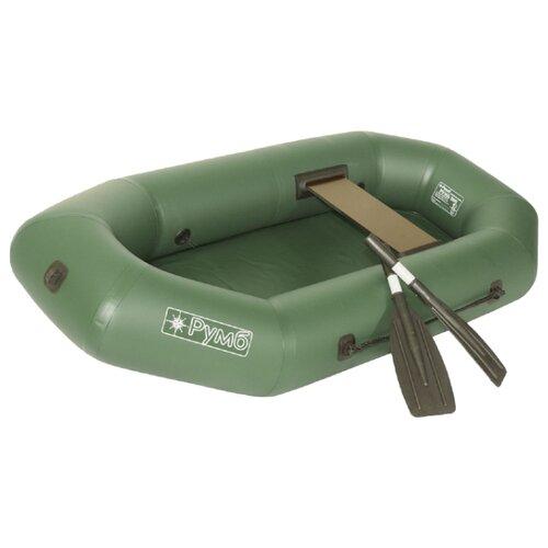 Надувная лодка Румб Р-200 ГР зеленый надувная лодка leader компакт 200 зеленый