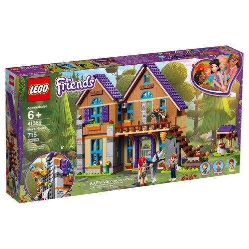 Конструктор LEGO Friends 41369 Дом Мии конструктор friends lego lego mp002xg00jt9
