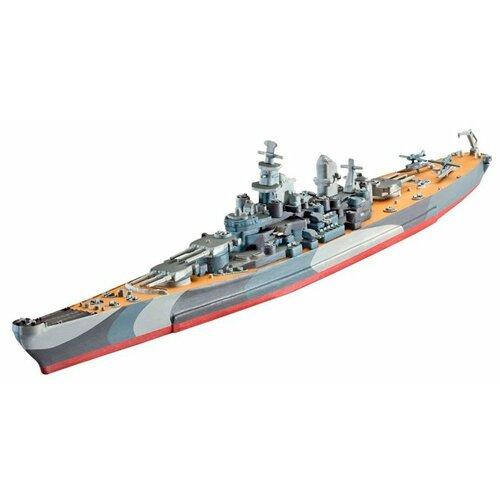 Фото - Сборная модель Revell Battleship U.S.S. Missouri(WWII) (05128) 1:1200 сборная модель revell porsche 356 cabriolet 07043 1 16