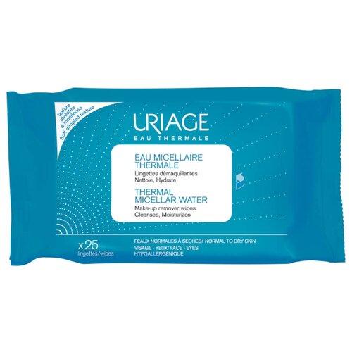 Uriage салфетки с очищающей водой, 25 шт. uriage ds